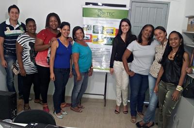 Treinamento RSS Amélia Rodrigues – BA