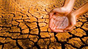 A seca é uma das mostras da agressão ambiental